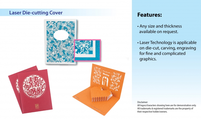 Laser Die-cutting Cover