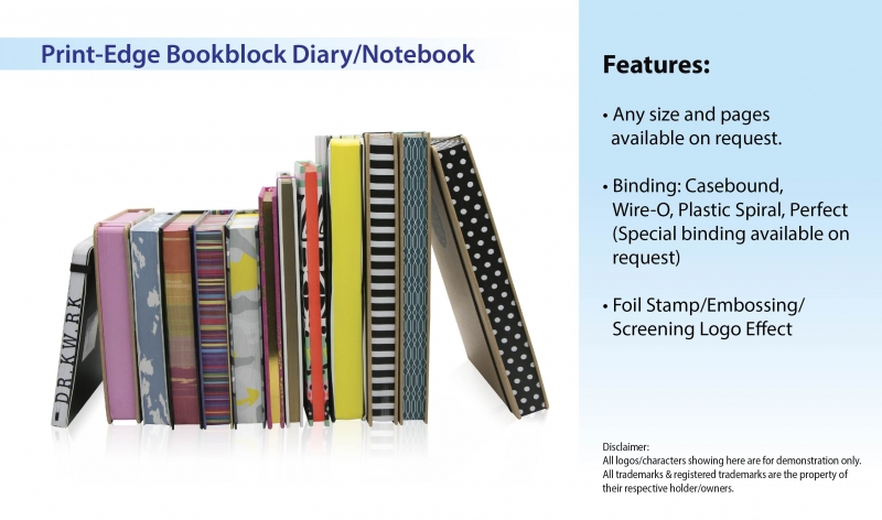 Print-Edge Bookblock Diary_Notebook