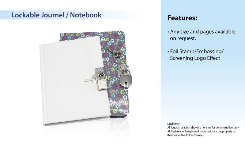 Lockable Journel _ Notebook